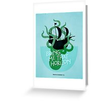 Pirates of the Caribbean Illustration Greeting Card