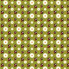 Lady Pug Pattern Tote Bag by boodapug