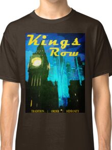Overwatch - Vintage Travel Poster (King's Row) Classic T-Shirt