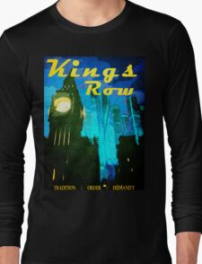 Overwatch - Vintage Travel Poster (King's Row) Long Sleeve T-Shirt