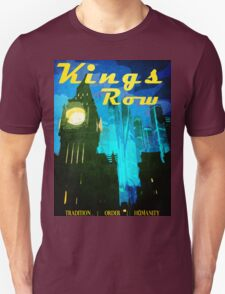 Overwatch - Vintage Travel Poster (King's Row) Unisex T-Shirt