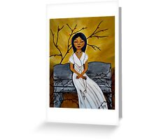 The Power of the Rosary Greeting Card
