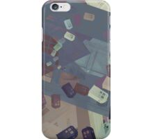 Call Box Chaos (Subdued) iPhone Case/Skin