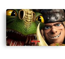 How To Train Your Dragon 02 Canvas Print