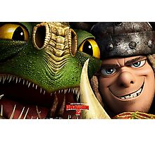 How To Train Your Dragon 02 Photographic Print
