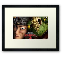 How To Train Your Dragon 03 Framed Print