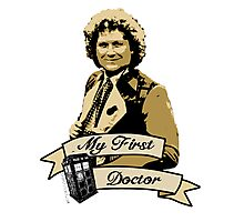 My first Doctor (Who) sixth 6th Colin Baker Photographic Print