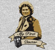 My first Doctor (Who) sixth 6th Colin Baker by dubukat