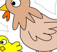 POULTRY FAMILY Sticker