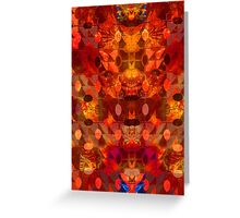 Scorched Earth. Greeting Card