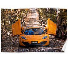McLaren 12c Spider Poster
