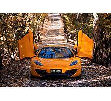 McLaren 12c Spider Photographic Print