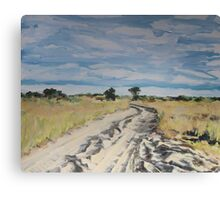 Sandy Highway Canvas Print