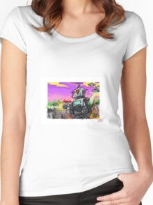 Untitled Women's Fitted Scoop T-Shirt