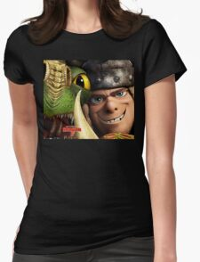 How To Train Your Dragon 02 Womens Fitted T-Shirt