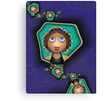Inner Child - Little Southern Peasant Girls Canvas Print