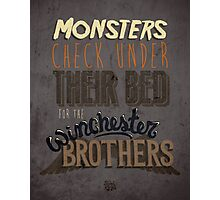 Supernatural Monsters Photographic Print