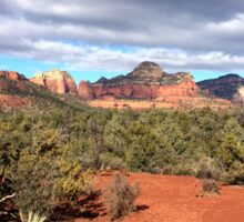 Red Rocks of Sedona Arizona Sticker