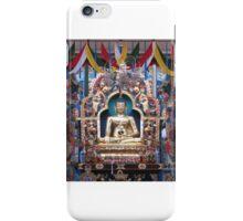 Buddha in a Beautiful Temple iPhone Case/Skin