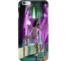 Robot Angel Painting 020 iPhone Case/Skin
