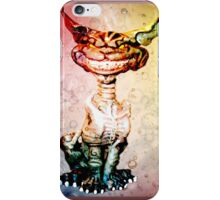 BEWARE THE CHESIRE GRIN iPhone Case/Skin