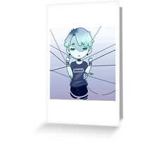 And the Wires Pulled Greeting Card