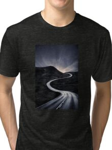 To Where The Darkness Ends Tri-blend T-Shirt