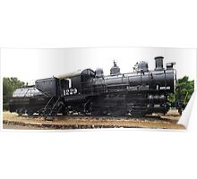 Southern Pacific Locomotive Poster