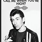 "Arctic Monkeys ""Why'd You Only Call Me When You're High"" by Kenzie Cameron"