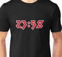 23:58 Two Minutes to Midnight Unisex T-Shirt