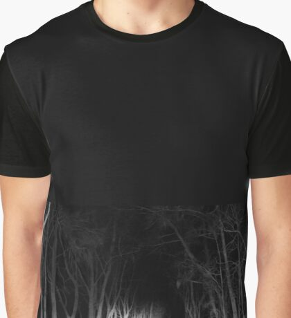 spooky night road Graphic T-Shirt