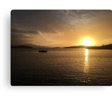 Sunrise on Loch Lomond  Canvas Print