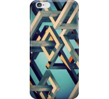 Blue Isometric Phone Case iPhone Case/Skin