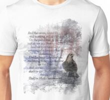 Edgar Allan Poe Poem The Raven Unisex T-Shirt