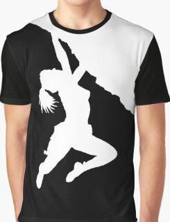 girl bouldering Graphic T-Shirt