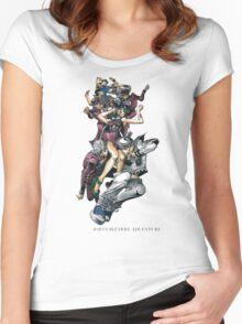 JoJo Bizarre Adventure Women's Fitted Scoop T-Shirt