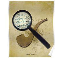 Sherlock Holmes Illustration Poster