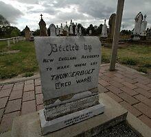 Thunderbolt's Grave, Uralla, Australia 2009 by muz2142
