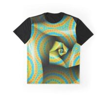 Folding and Pleating A Paper Spiral II Graphic T-Shirt