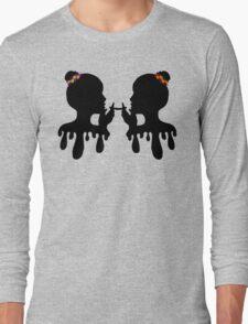 Flower Twins Long Sleeve T-Shirt