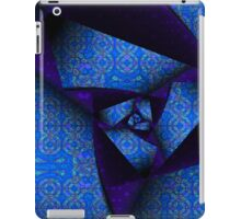 Folding And Pleating A Paper Spiral iPad Case/Skin