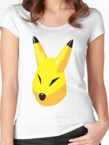 Keaton Mask w/o Cartridge Women's Fitted Scoop T-Shirt