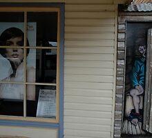 Open & Shut Case, Uralla, Australia 2009 by muz2142