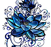 Blue Lotus by DropBeart