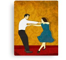 Swing Dance Canvas Print