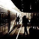 Taree Train Station by Matthew Jones