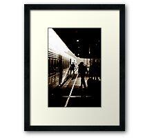 Taree Train Station Framed Print