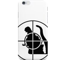 Global Enemy - Godzilla - no text iPhone Case/Skin