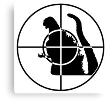 Global Enemy - Kaiju - no text Canvas Print