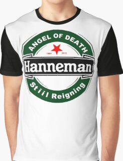 Black Angel Hanneman Graphic T-Shirt